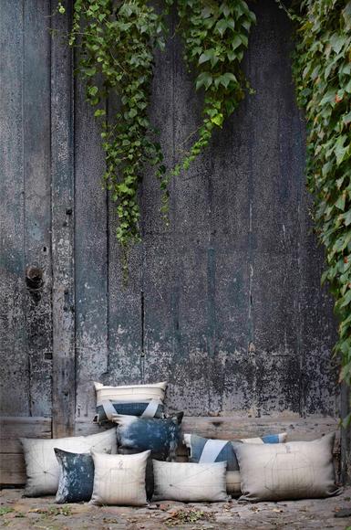 Coussins en lin Leligne - Maison Poesia