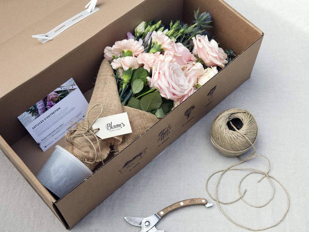 Idées de cadeaux pour Noel Abonnement bouquet de fleurs Blooms - maison Poesia