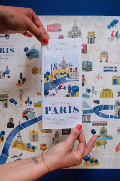 Idées de cadeaux pour Noel City guide Julie Flamingo - maison Poesia