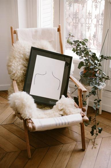 Idées de cadeaux pour Noel Dessin Fantine Reucha - maison Poesia